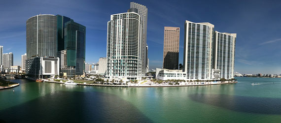Downtown Miami from Brickell Key (Credit: Ines Hegedus-Garcia)